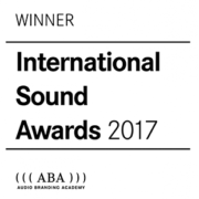 International Sound Awards 2017 Winner
