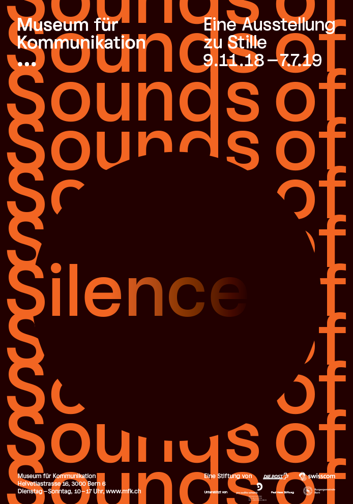 Museum fuer Kommunikation Sounds of Silence